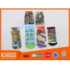 China Printed customized polyester Sublimation Socks for sale