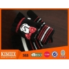 China Brand colorful acrylic Half Finger Glove With Mitten-cover for sale