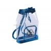 China clear pvc drawstring backpack for sale