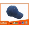 China 6 panel Plain Blank Promotional Denim Cap for sale