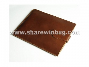 China Personalized Tan Leather iPad Mini Case on sale