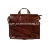China men's urban leather satchel for sale