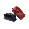 China men's leather wash bag for sale