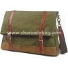 China contrast colors canvas postal bag for sale