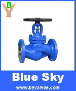 China DIN CAST IRON GLOBE VALVE PN16/PN25 on sale
