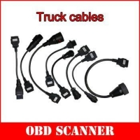 Truck Cables 8 PCS for TCS CDP PRO Multidiag DS MVD 150 wow snooper