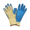 China Aramid FiberCut Resistant Safety Gloves-Latex Crinkle Finished (BGKL101) for sale