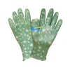 China BGNC306 / Green Polyester Nitrile Coated Work Gloves for sale