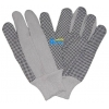China BGCW104-Mens Cotton Canvas Work Gloves With Dots for sale