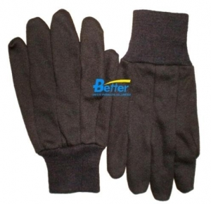 Quality BGCJ101-Mens Brown Cotton Jersey Gloves for sale