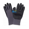 China Dexterity 15 Guage Nylon Shell Foam-Nitrile-Dipped Work Gloves for sale