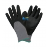 China Dexterity Black 3/4 Foam-Nitrile-Dipped Work Gloves(BGNC305) for sale