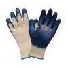 China Economy USA Market Smooth Finished Blue Latex Coated Work Gloves (BGLC102) for sale