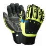 China BGAV004-Hi-Vis Cut 5 Impact Resistant And Anti-Vibration Gloves for sale