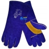 China CW205B-High Quality Blue Split Cow Leather Welding Work Glove for sale