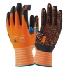 China Nylon with Nitrile Foam Dipped and Dots Safety Work Gloves (BGNC503) for sale