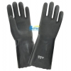 China BGPC402-Black PVC Sandy Dipped Chemical Resistant Gloves for sale