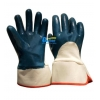 China BGNC203-Super Strong Heavyduty Blue Nitrile Coated Gloves for sale
