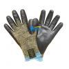 China Aramid Fiber Lining Nitrile Coated Cut Resistant Work Gloves (BGKN101) for sale