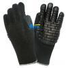 China BGAV001-Black Foam Latex Rubber Palm Anti-Vibration Gloves for sale