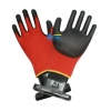 China Red U3 Knitted Nylon Lining PU Dipped Work Gloves (BGPU304) for sale