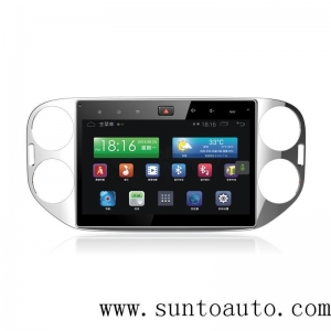 China 10 inch Android GPS Car Video and Audio system for VW Tiguan 2013 on sale