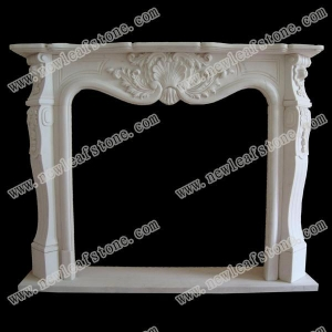 China NLSF-002 stone fireplace on sale