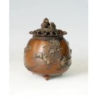 China Bronze Incense Burner-IT005 Antique Chinese Bronze sculpture on sale