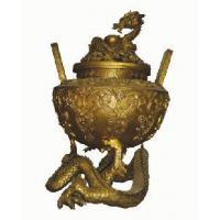 China Bronze Incense Burner-IH007 Antique Chinese Bronze sculpture on sale