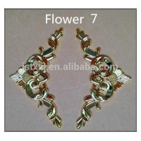 China Metal Hook Coffin Accessories Flower Model 7 # with Plastic Material for Coffin on sale