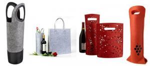 China Felt Wine Bag on sale