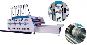 China Semi-Automatic Printer Slotter on sale