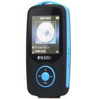 RUIZU X06 Bluetooth HIFI 4G MP3 Player with FM Function Earphone Support 64G TF Card Redcliffe