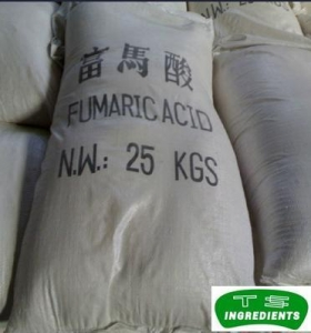 China foods with fumaric acid 99% high purity food grade Fumaric acid powder CAS110-17-8price fumaric acid on sale