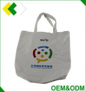 China Top quality cotton tote bag custom logo OEM factory tote shopping bag standard size cotton tote bag on sale