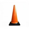 China 700cm Black Base Traffic Cone for sale