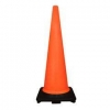 China 900cm Black Base Traffic Cone for sale