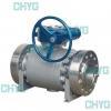 China Stationary titanium ball valve for sale
