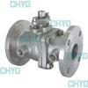 China Titanium jacket insulation ball valve for sale