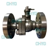 China Titanium hard sealing ball valves for sale