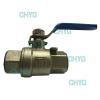 China Internal thread titanium ball valve for sale