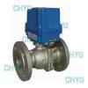 China Pneumatic Q641F titanium ball valve for sale