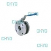 China Ultra-thin Q71F type ball valve/ball valve to the clamp for sale