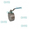 China Ultra-thin Q71F type ball valve ball valve to the clamp for sale