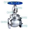 China Cast steel globe valves for sale