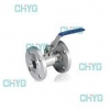 China Type Q41F PN16 one-piece gb flanged ball valves for sale