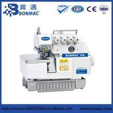 China BONMAC BM747 4 thread industrial overlock sewing machine with reasonable price on sale
