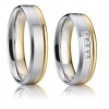 China High Quality Imitated Brass Rings Wedding for Men and Women for sale