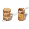 China BNC Connectors Round Brass Moulding Inserts for sale