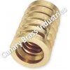 China BNC Connectors Brass Threaded Wood Inserts for sale